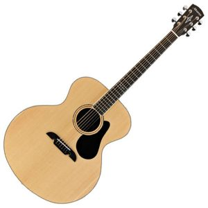 Akoestische bariton gitaar