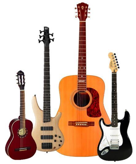 Soorten gitaren