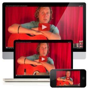 Online gitaarcursus Michel