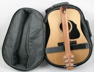 Opvouwbare gitaar