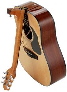 Inklapbare gitaar
