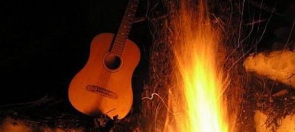Kampvuurliedjes gitaar