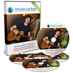 Cursus gitaar spelen van Koen Snoek